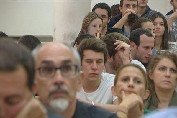 Université de Corse, le 5 novembre 2013