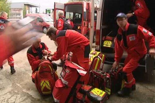 Les Pompiers de l'Urgence Internationale disposeront de deux nouveaux camions, offerts par le SDIS 87