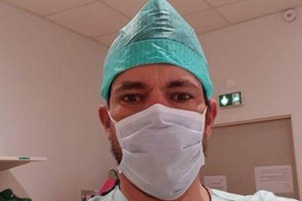 Christian Prud'homme secrétaire FO et infirmier anesthésiste