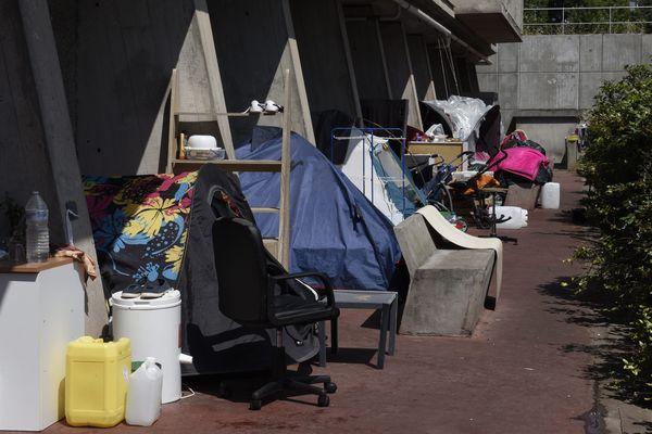 """La préfecture de Haute-Garonne assure que """"Toutes les demandes de la mairie de Toulouse pour évacuer les tentes installées illégalement sur l'espace public ont été traitées dans les délais les plus brefs."""""""