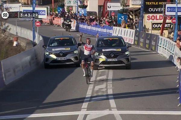 Coup double pour Brambilla qui remporte la 3e étape et le classement général du Tour des Alpes-Maritimes et du Var.