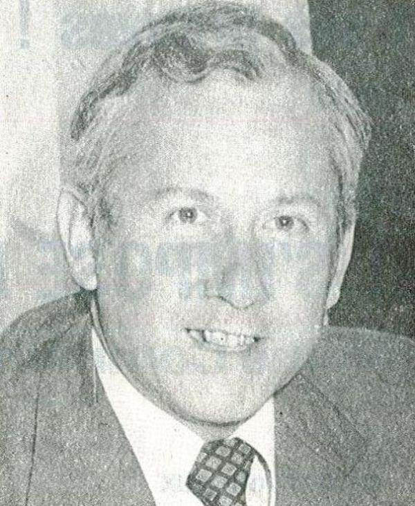 Guy Lengagne, en 1978, maire socialiste de Boulogne-sur-Maire.