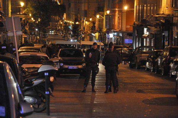 14/01/15 - Deux blessés dont un par balles au centre de Bastia