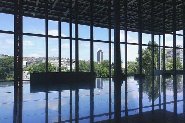 La salle des pas perdus du palais de justice de Nantes