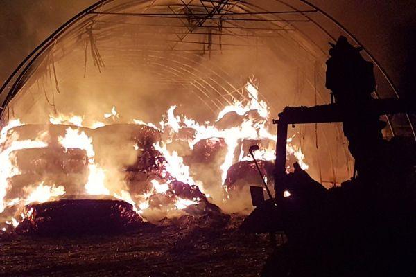 L'incendie s'est produit dans la soirée du 9 mars 2020