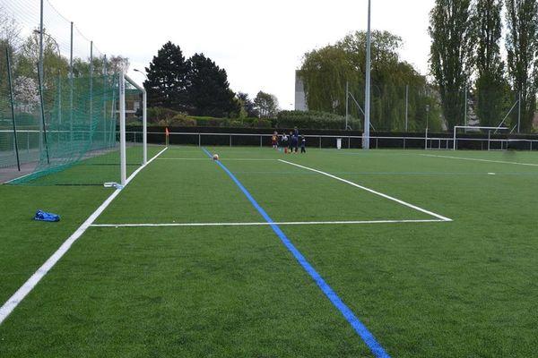 Un terrain de foot à Wambrechies