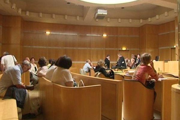 Montpellier - audience à la Cité judiciaire - 15 novembre 2012.