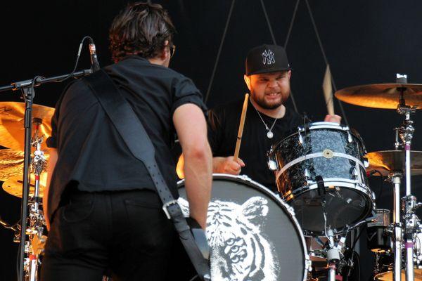 Royal Blood a livré le show le plus rock du week-end au Main Square !