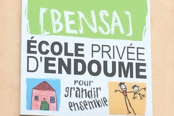 La classe de CM1 de l'école Bensa à Marseille est fermée jusqu'au 18 mars prochain.
