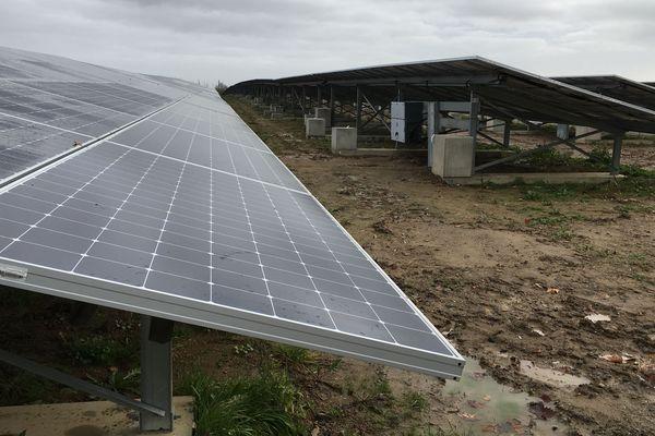 Mise en production de la centrale photovoltaïque de la Petite Vicomté aux Ponts-de-Cé.