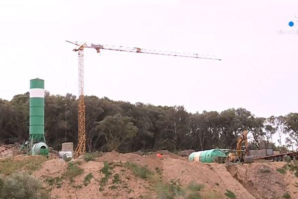 Une centrale à béton sauvage a été bâtie en pleine nature à Porticcio, au niveau du lieu-dit Bomortu.