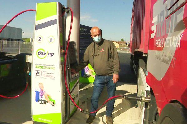 La première station de distribution de gaz pour véhicule a vu le jour en Dordogne