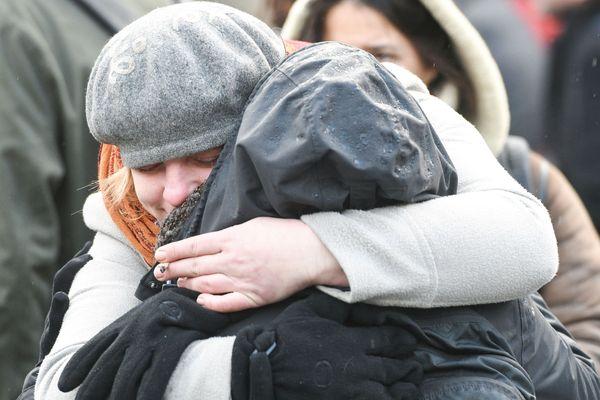 Samedi 9 février un hommage aux victimes de l'attentat de Strasbourg,qui a coûté la vie à cinq personnes, est organisé place Saint-Thomas. Photo d'archives.