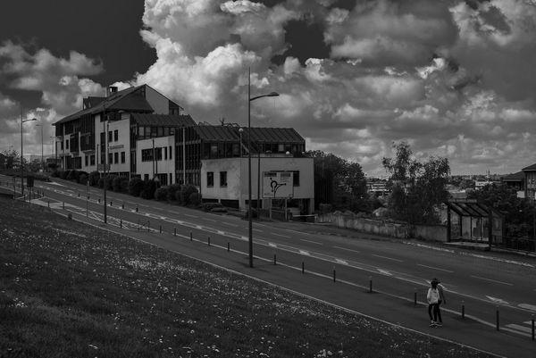 Le regard du photographe sur Rodez pendant le confinement