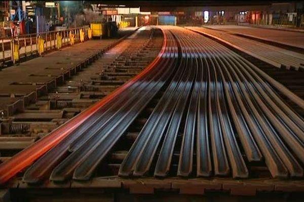 L'usine d'Hayange lamine notamment les rails pour les lignes à grande vitesse.
