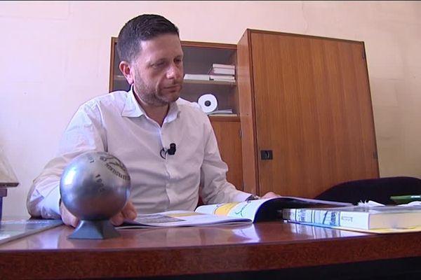 Pierre Guille le patron du Mondial à pétanque La Marseillaise.