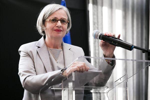 """La candidate d'extrême droit aux municipales de Grenoble, Mireille d'Ornano, monte une liste """"sans étiquette"""". Photo d'""""archives."""