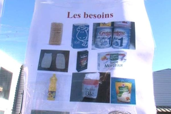 Le lait et la viande se font rares au Secours Populaire de Ganges (Hérault)