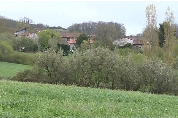 Le futur élevage de canards devrait s'implanter dans ce vallon, à Montégut-Plantaurel en Ariège.