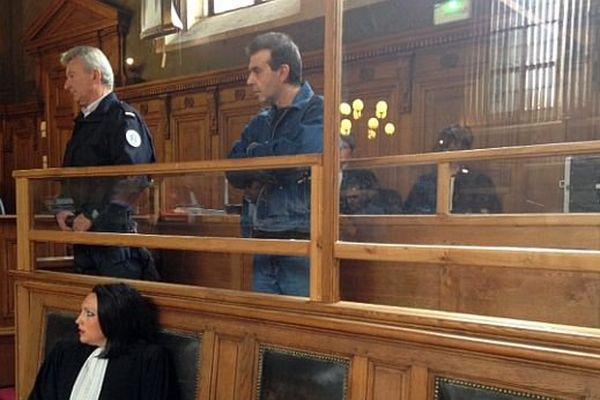 Jean-Pierre Mura, au premier jour de son procès en appel.