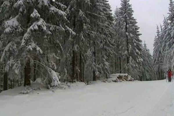 La station du Haut-Folin est ouverte aux skieurs