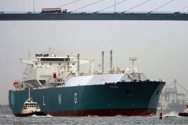 Le trafic du gaz naturel liquéfié à baissé de 40% en 2012 pour le Grand Port Maritime de Nantes et Saint-Nazaire