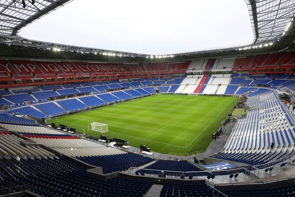 Illustration : le Parc OL à Lyon.
