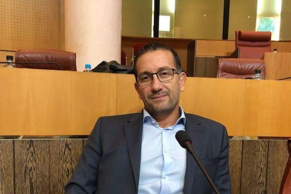 Louis Pozzo di Borgo sur les bancs de l'Assemblée de Corse