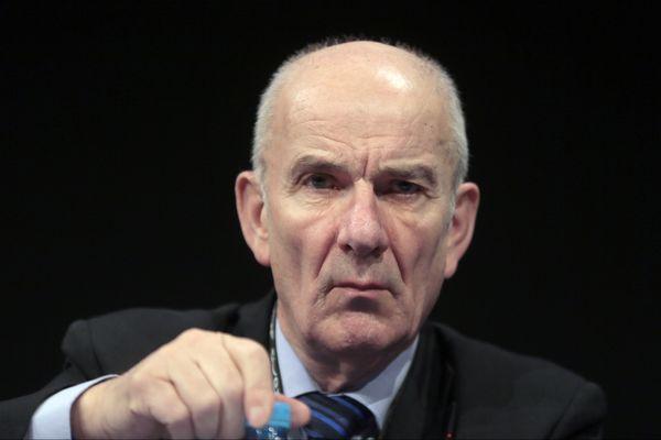 Yves Krattinger, le Président du conseil départemental de la Haute-Saône