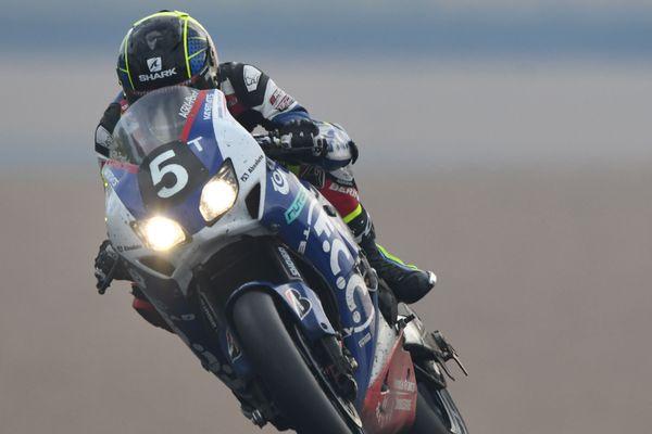 C'est la Honda n°5, pilotée ici par Freddy Foray, qui a remporté la 41ème 24 Heures Motos.