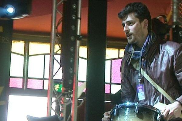 """Martin est bénévole depuis six ans au festival """"Jazz sous les pommiers"""""""