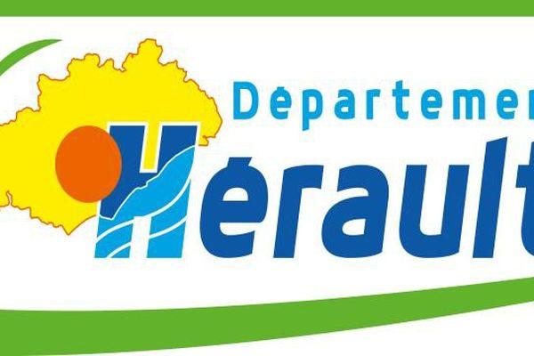 Le nouveau logo du département de l'Hérault. Juillet 2015