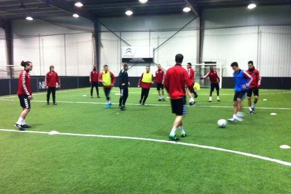 Entrainement du Stade de Reims (Arena Soccer - Reims) 15/01/2103