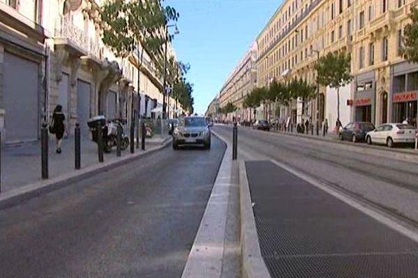L'accident avait eu lieu rue de la République à Marseille, le 21 août dernier.