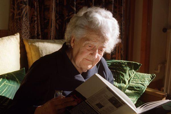 Germaine Tillion (1907-2008), ethnologue et figure de la Résistance française.