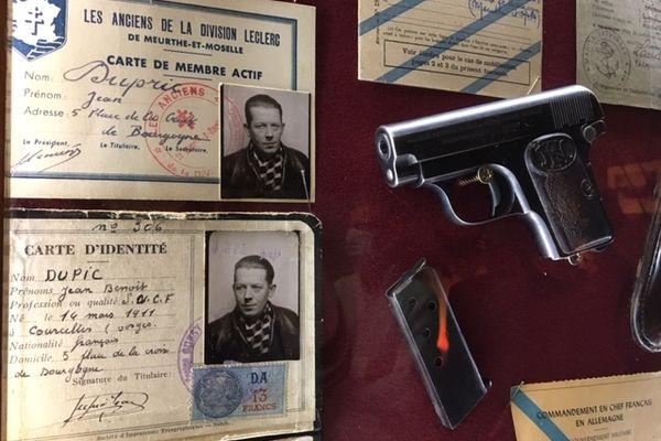 Documents remis au musée du Combattant de la Haute-Saône