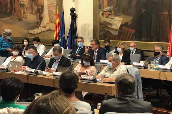 Le sujet de la sécurité s'est invité au conseil municipal de rentrée de la ville de Perpignan, jeudi 24 septembre.