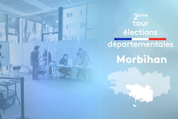 2ème tour des élections départementales 2021 dans le Morbihan