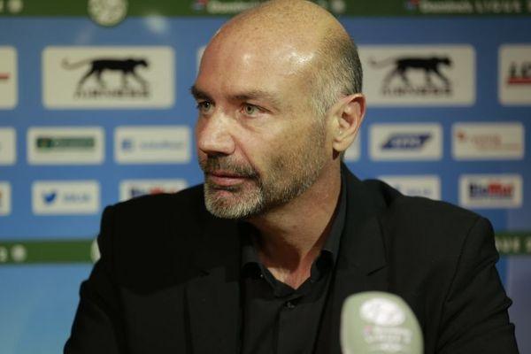 Cédric Daury, l'entraîneur de l'AJ Auxerre