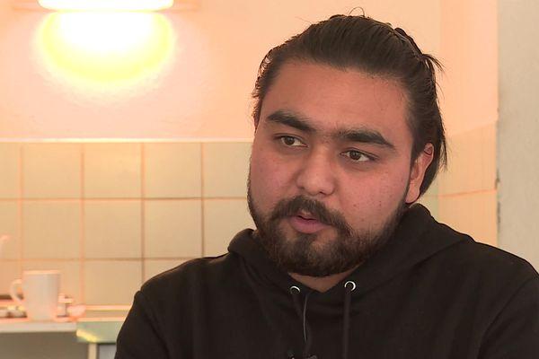 Reza Mohabbati était photographe avant l'arrivée des talibans à Kaboul.