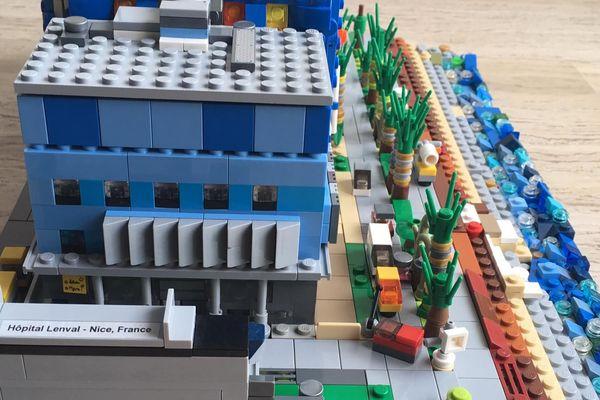 Lenval, en briques... de Lego !