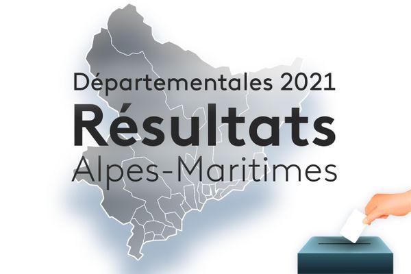 Les résultats du premier tour des élections départementales 2021 dans les Alpes-Maritimes