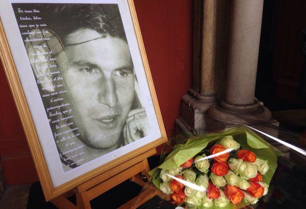 Les obsèques de l'ancien tennisman professionnel dijonnais Jérôme Golmard ont été célébrées mardi 8 août 2017 en l'église Notre-Dame de Dijon.