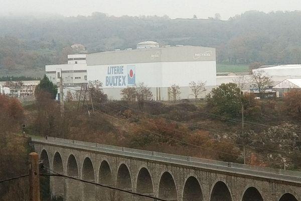 Le site de Copirel (Bultex) à Mazeyrat-d'Allier, en Haute-Loire, est menacé de fermeture.