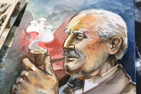 LA BD JRR Tolkien et la bataille de la Somme de Emmanuel Beaudry et Corentin Lecorsier raconte l'influence de la guerre sur l'oeuvre de l'écrivain.