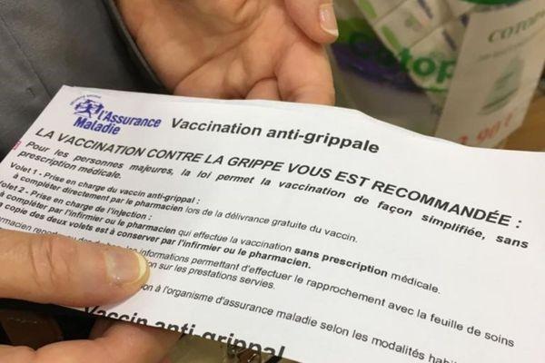 Lancement de la campagne de vaccination contre la grippe 2020-2021