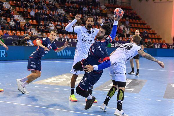 Le LH face à Montpellier le 19 mai 2021.