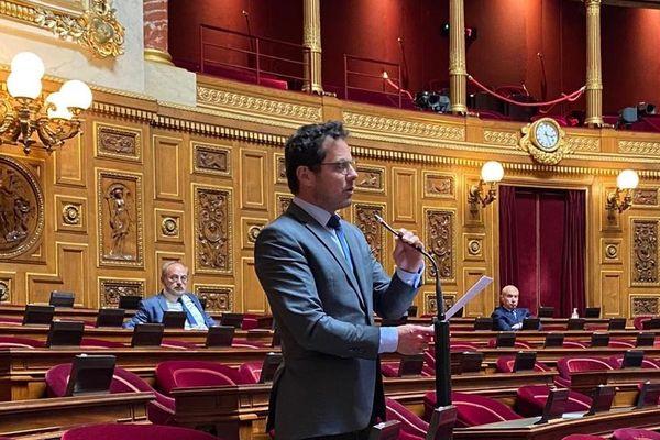 Jérôme Durain, sénateur PS de Saône-et-Loire