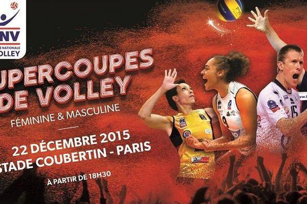 Tours rencontre Paris pour la Supercoupe de Volley à Paris mardi 22 décembre