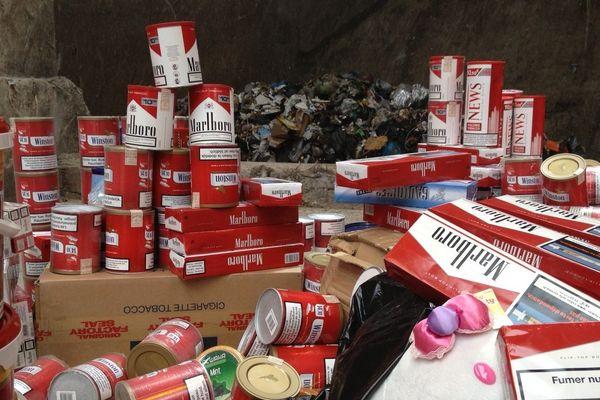 Destruction saisie douanes Champagne-Ardenne